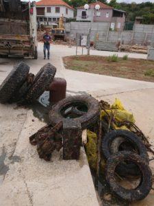 Otpad uklonjen iz podmorja u naselju Sali